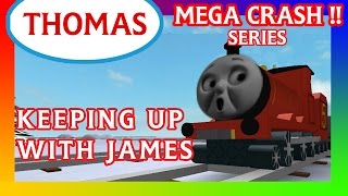 Keeping Up With James | Thomas and Friends Roblox Accidents
