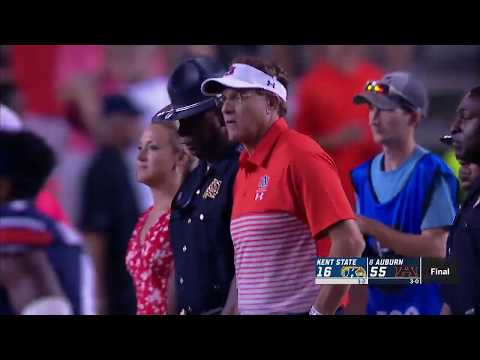 Auburn Sports - #8 Auburn-55 Kent State-16 | September 14th, 2019
