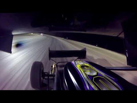 Shayle Bade 360 Sprint Car Park Jefferson Speedway South Dakota Spring Nationals Heat Race 4/27/18