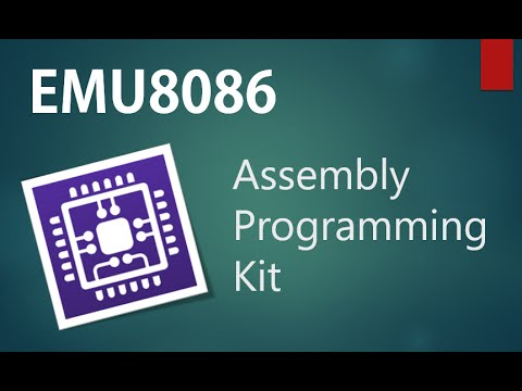 Emu8086 Assembly Programming Kit Installation Steps for Windows 10