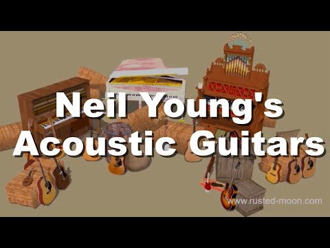 Acoustic Barn - Neil Young's Acoustic Guitars In One Single Video