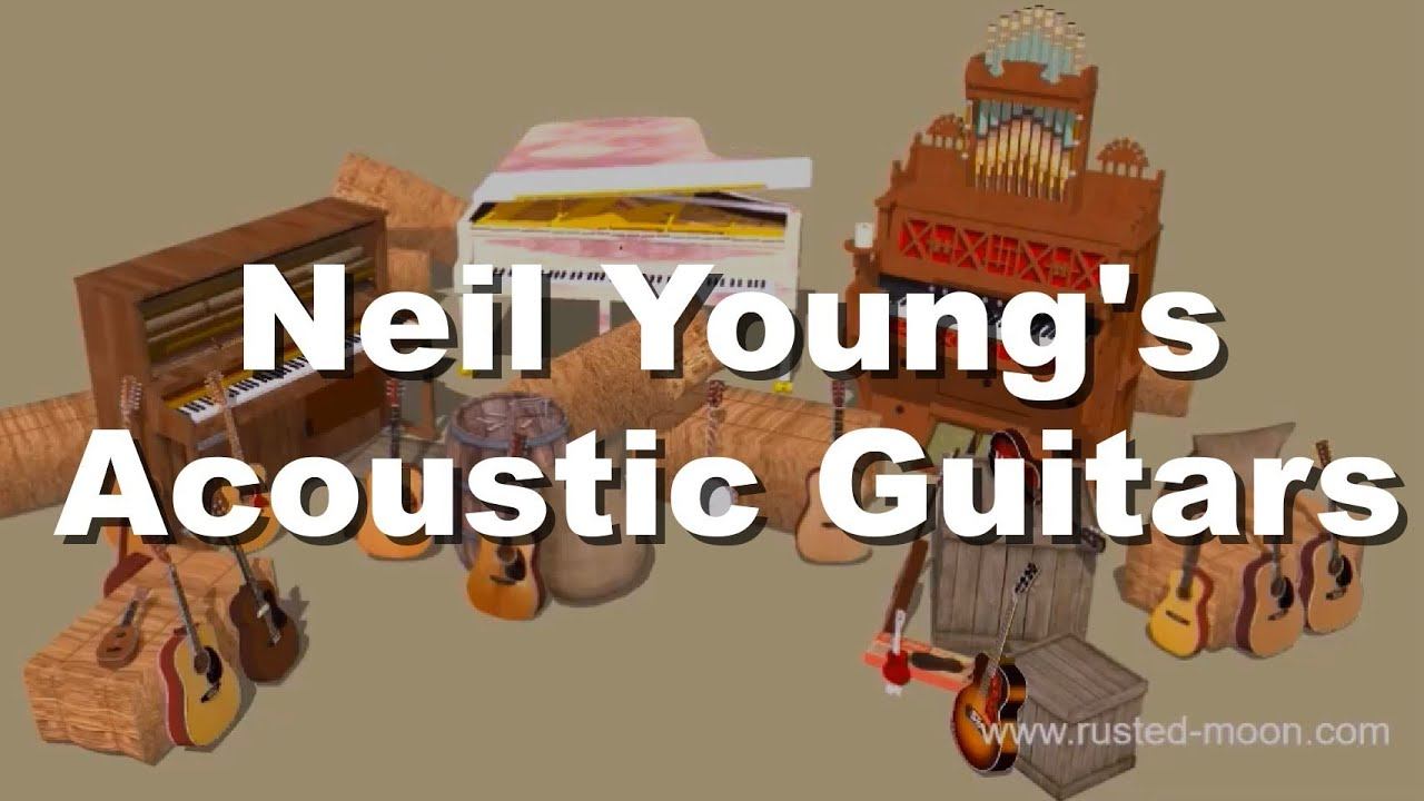 acoustic barn neil young 39 s acoustic guitars in one single video youtube. Black Bedroom Furniture Sets. Home Design Ideas