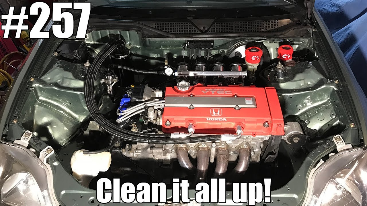 Vibrant catch can install, tidying up the engine bay!