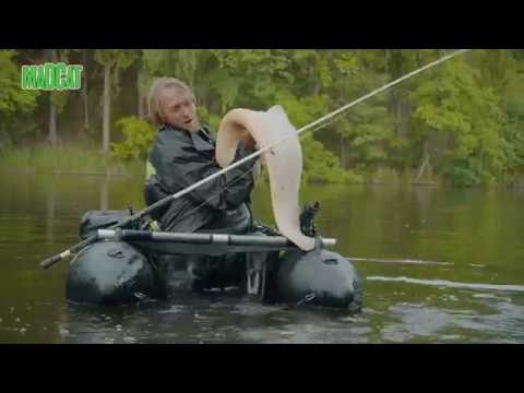 688328f75cf5d3 MADCAT Belly Boat Fishing - with Jakub Vágner - YouTube
