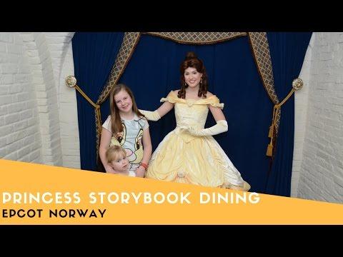 Princess Storybook Dining Akershus Royal Banquet Hall Review
