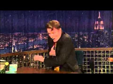 Conan O Brien drinks Lapin Kulta Finnish beer