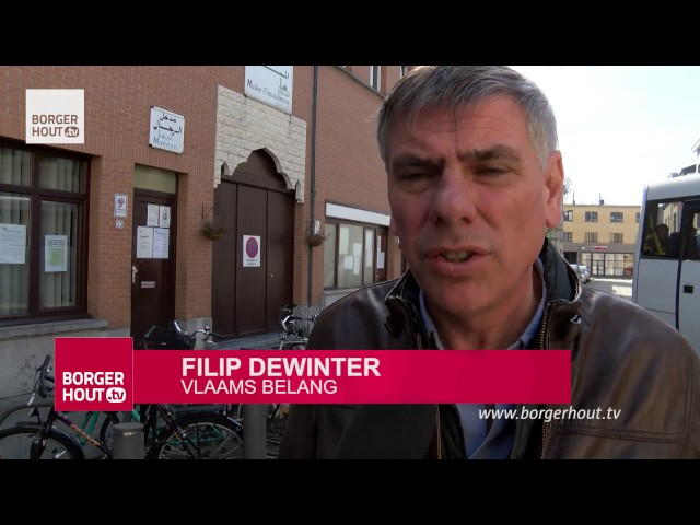 "Filip Dewinter op ""Islamsafari"" in Borgerhout"