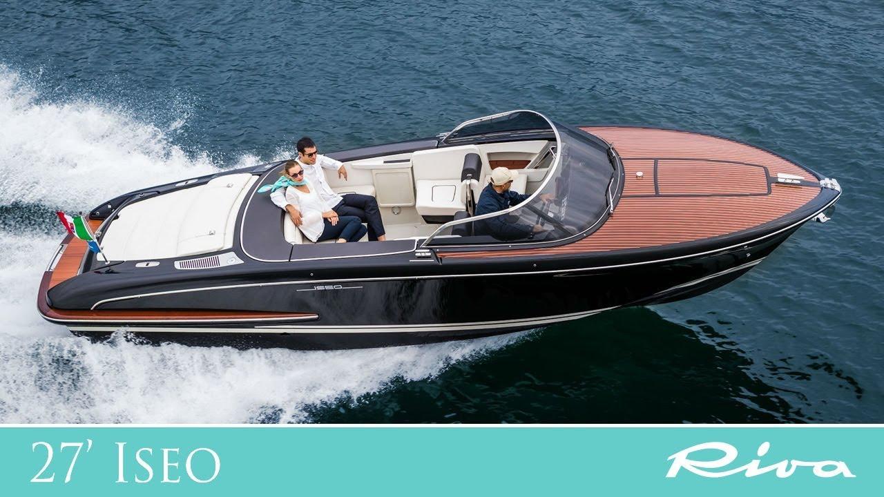 Luxury Yacht   Riva 27&39; Iseo   Ferretti Group   YouTube