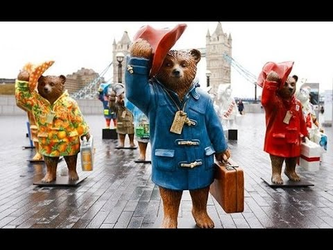 Movie, exhibition about the famous Paddington Bear in UK