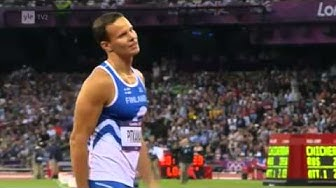 Miesten keihäsfinaali Lontoon olympialaiset 2012
