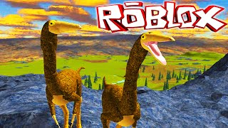 "Primal Life ""Roblox"" (Gameplay/EN)-Playing from Gallimimus! (#2)"