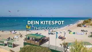 DEIN KITESPOT - Theologos Alex Beach / Rhodos by Kitereisen.TV