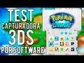 TEST CAPTURADORA NEW 3DS POR SOFTWARE
