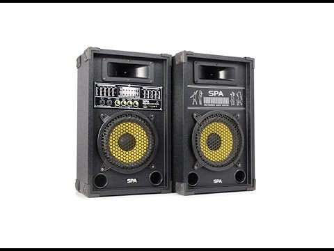 Review Skytec SPA800Y PA  Altavoces 600W