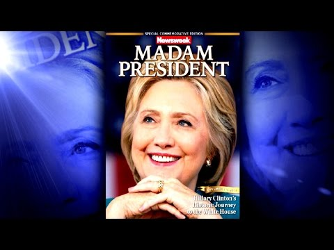 Newsweek Prematurely Ships Out Madam President Magazine Cover