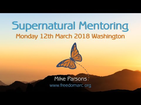 Supernatural Mentoring Monday 12th March 2018 Washington