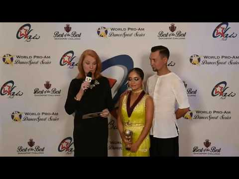 World ProAm DanceSport Series 2017 Junior International Latin 4-Dance Champions