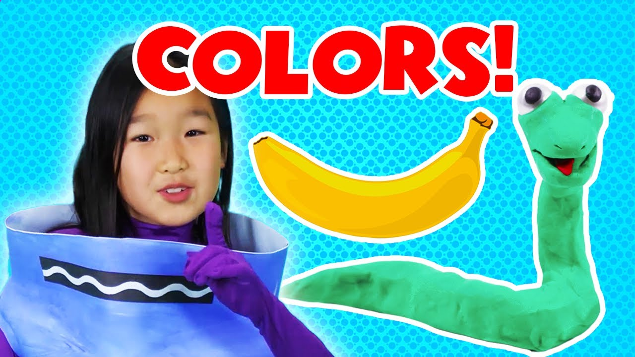 Let's Learn About Colors! | Learning Colors for Kids | Pocket Preschool