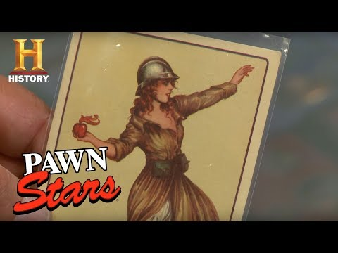 Pawn Stars: WWI Protest Cards