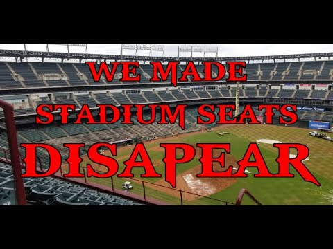 Texas Rangers Seat Removal In Globe Life Park