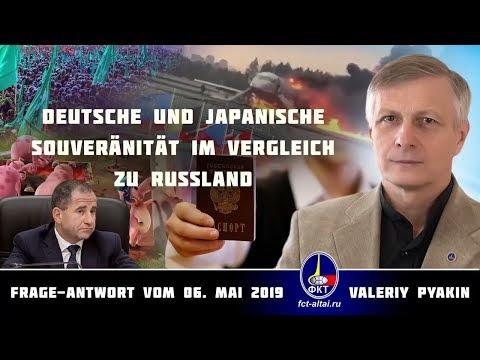 Deutsche und japanische Souveränität im Vergleich zu Russland (Valeriy Pyakin 6.5.2019)