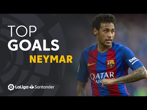 TOP 10 GOALS LaLiga Neymar Jr