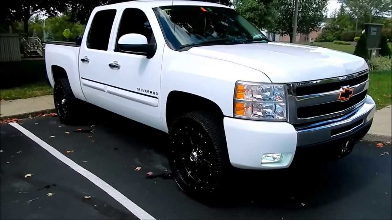 Plasti Dip Silverado (Walk Around) - YouTube