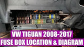 Where Are The Fuse Box And Relays Located On Vw Tiguan 2008 2009 2010 2011 2012 2013 2014 2015 2016 Youtube
