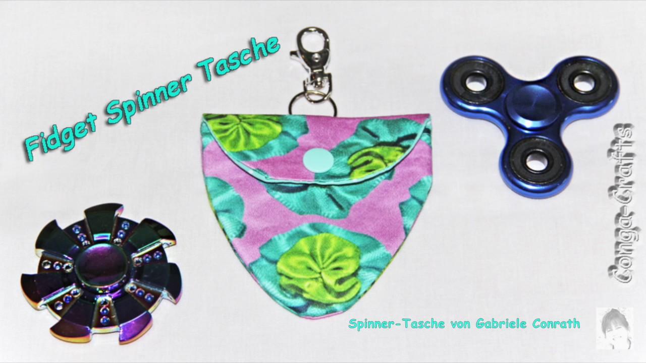 Tasche für Fidget Spinner - Schnitt entwerfen und nähen. Design your ...
