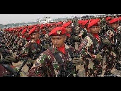 TOP 10 NEGARA DENGAN MILITER TERKUAT DI DUNIA. INDONESIA ?