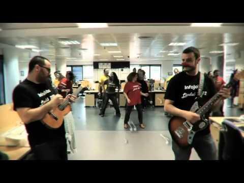 LIP DUB Infojobs Barcelona 2012