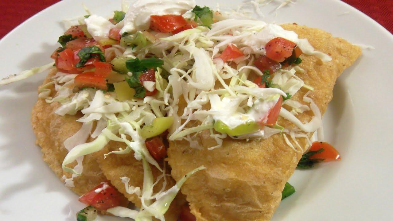 EMPANADAS de Masa de Maiz receta- Complaciendo Paladares - YouTube