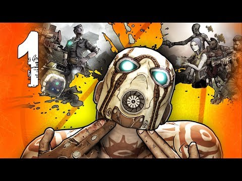Borderlands 2 Co-Op Walkthrough w/ Ally - Part 1 (Playthrough, Let's Play)