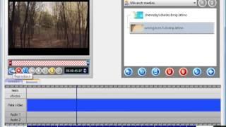 como editar o cortar un video con nero