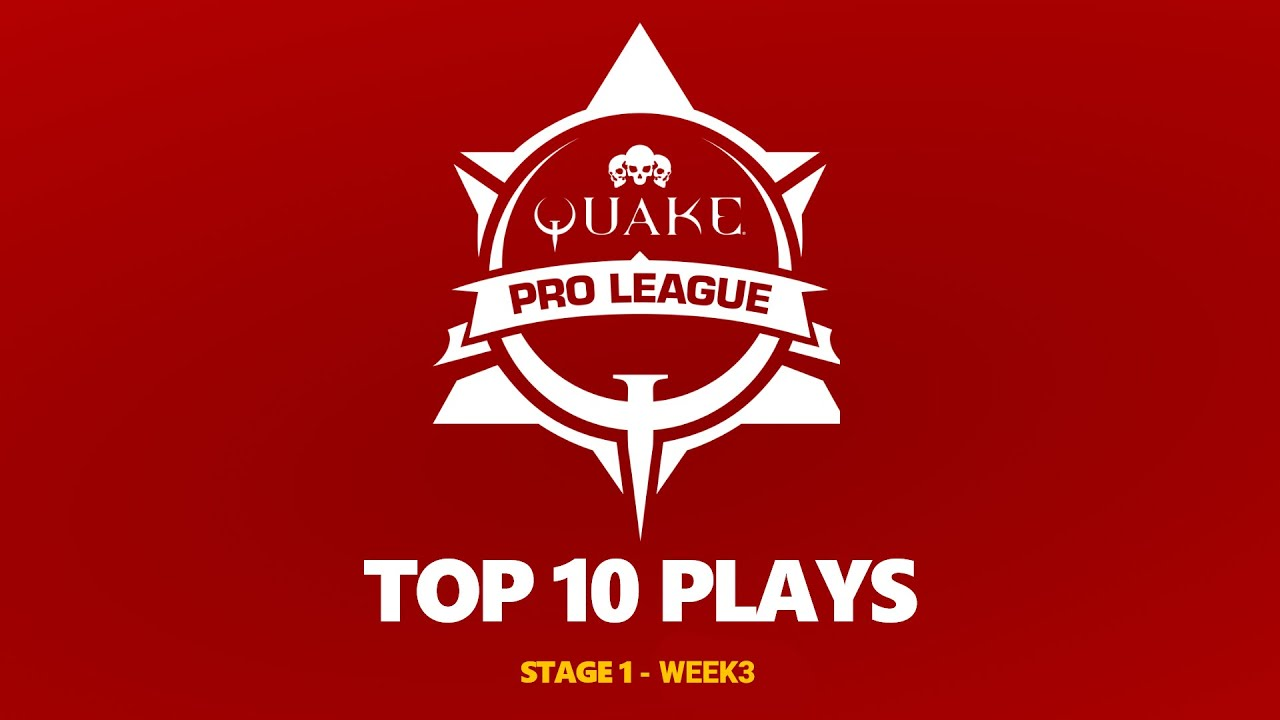 Quake Pro League - TOP 10 PLAYS - 2020-2021 STAGE 1 WEEK 3
