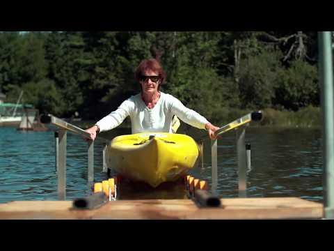 Wood or Aluminum Kayak Ramp Kit (DIY)