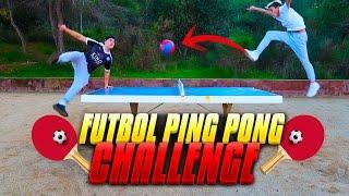 ¡¡FUTBOL PING PONG CHALLENGE!!