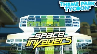 SPACE INVADERS UPDATE in Theme Park Tycoon 2!! - Roblox