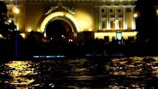 Прогулка по Неве ночью ч.1(Наша прогулка на катерке ночью по Неве. Разводка мостов., 2011-08-11T11:21:26.000Z)