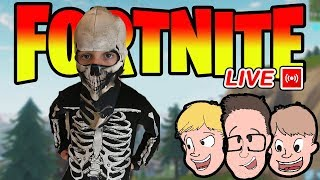 WE MET THE *REAL* SKULL TROOPER Fortnite update + playground v2 (Live Stream)