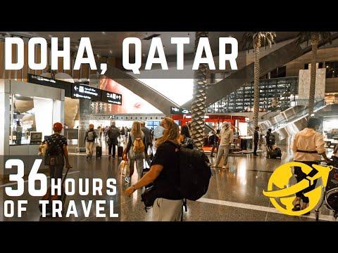 Traveling To Greece 2021 - Layover in Doha , Qatar