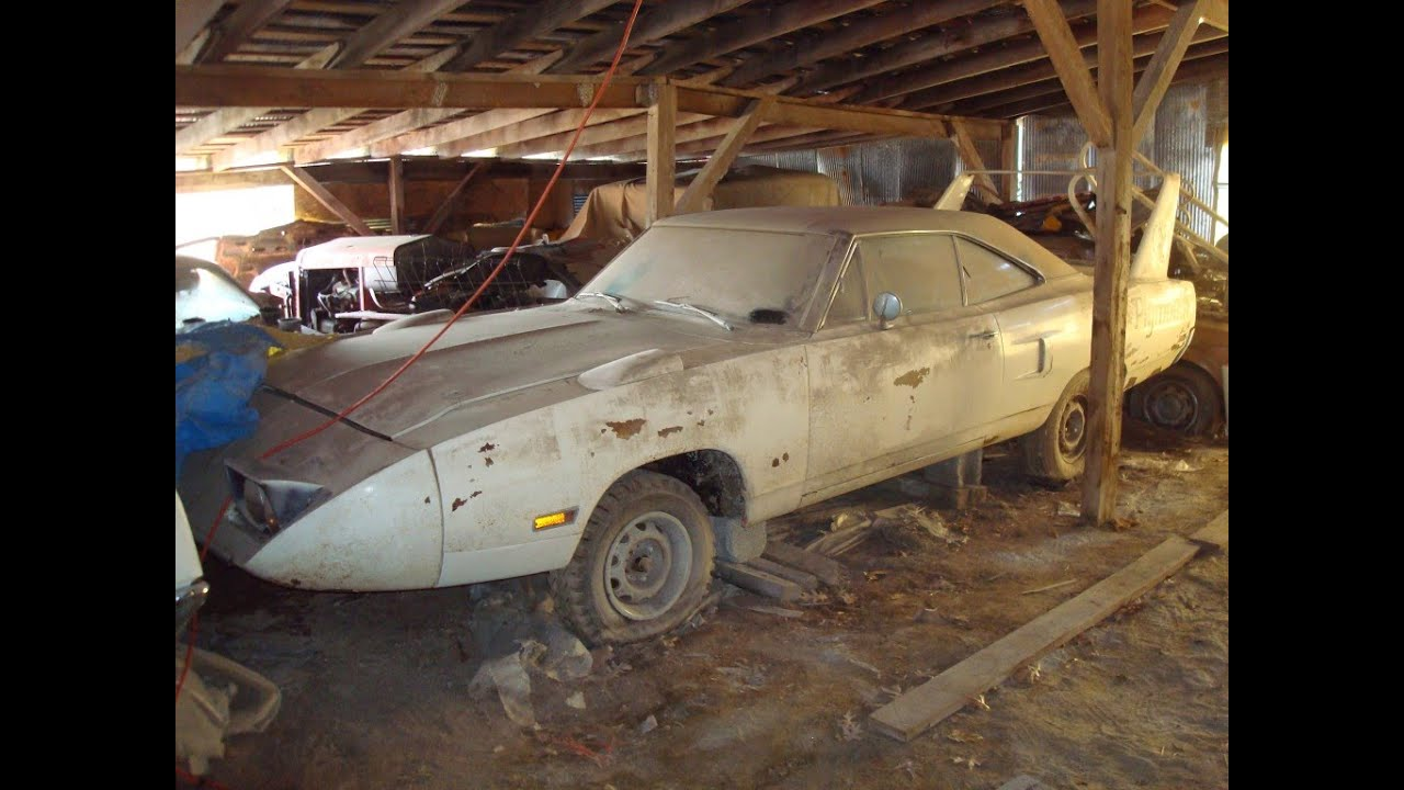 Epic Barn Find in Midwest, Superbird, Talladega, Charger ...