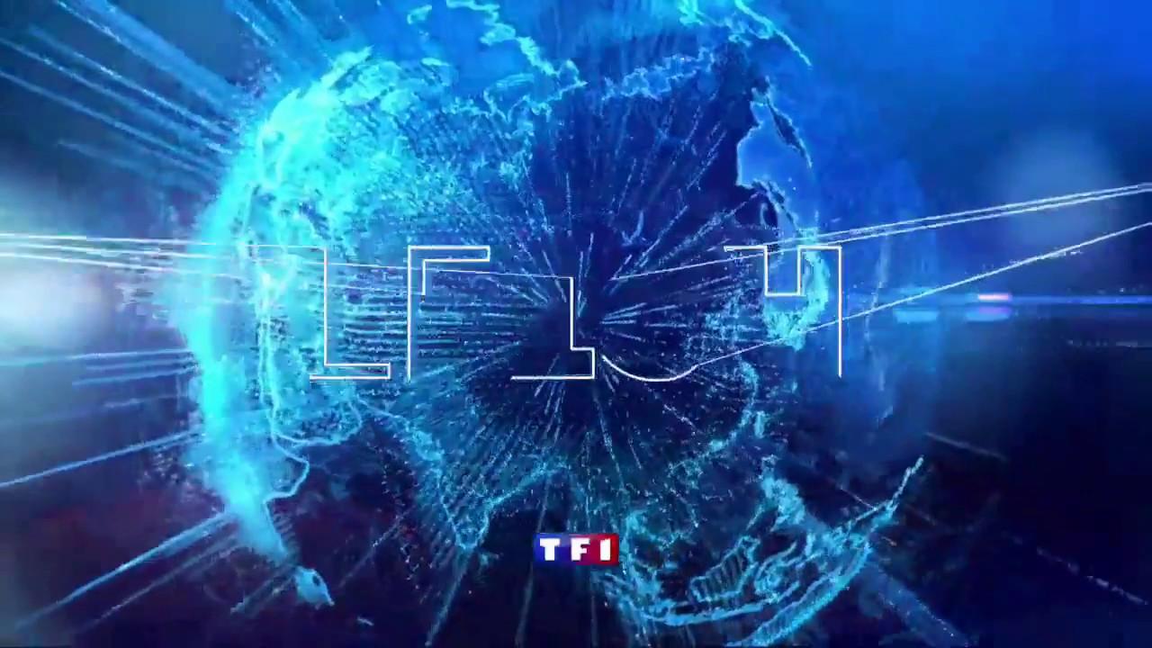 Générique JT 13H WE TF1 Anne-Claire Coudray - YouTube