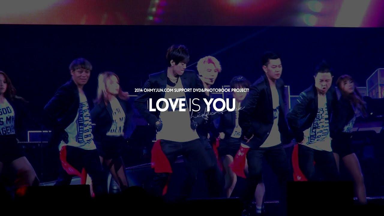 Download 2014 OHMYJUN.COM SUPPORT GOODS 'L♡VE IS YOU' TEASER