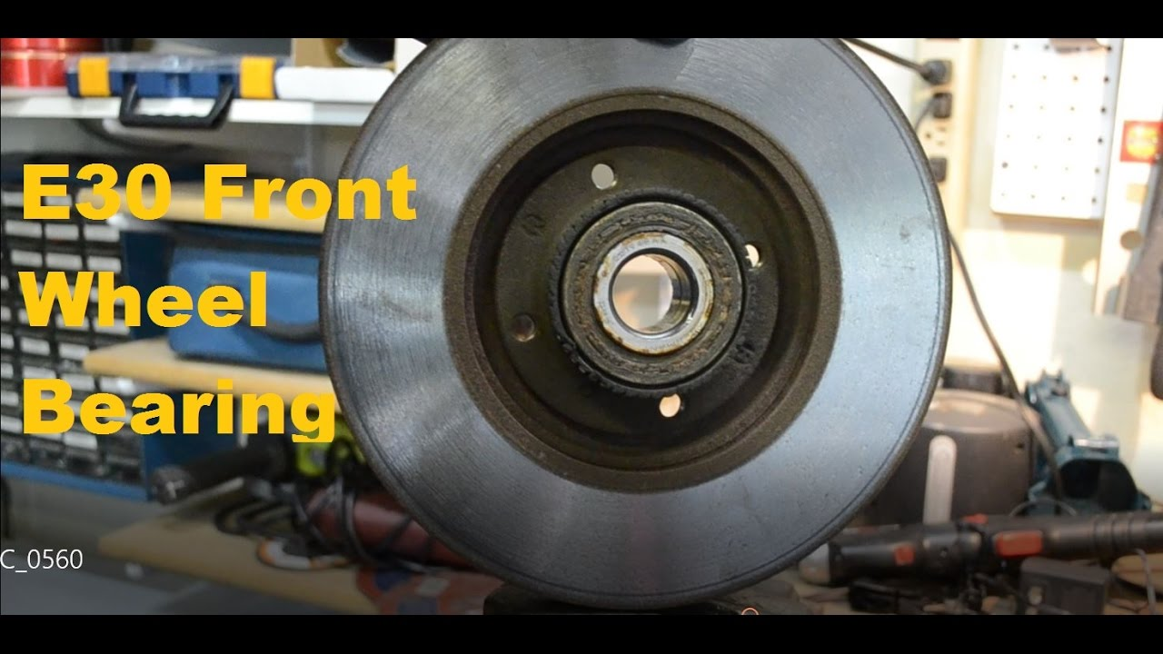 BMW E30 Front Wheel Bearing Hub Replacement Tutorial