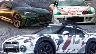 Внедорожник из Nissan GTR, Самая уникальная Supra, Новая красота Audi RS5 SportBack