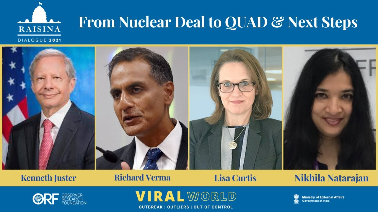 Download India-US Relations: Looking Back, Looking Ahead #Raisina2021