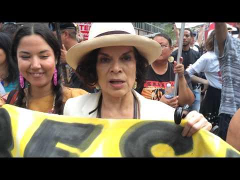 Bianca Jagger is #IdleNoMore