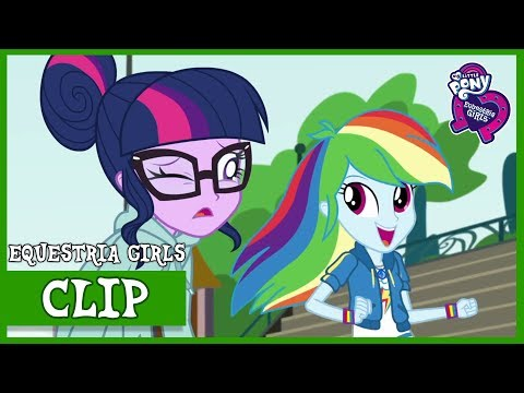 RAINBOW DASH | Stressed in Show | MLP: Equestria Girls | Choose Your Own Ending [Full HD]