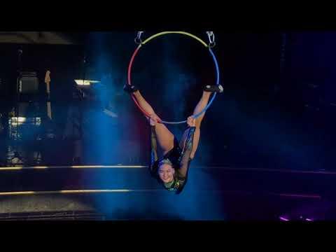 Mongolian circus. Khangaskhan show. Tallink. Finnish Gulf 2018